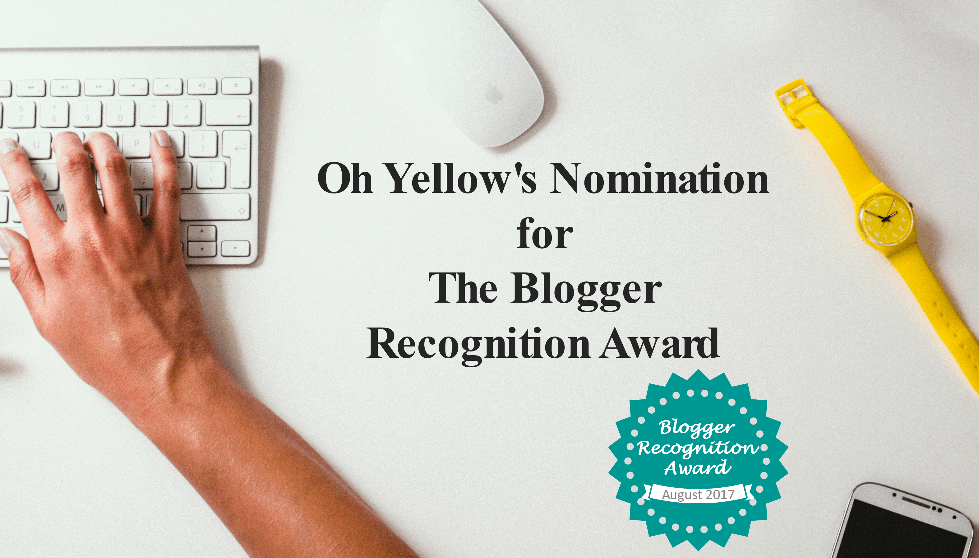 New Blog, Award, Start a blog