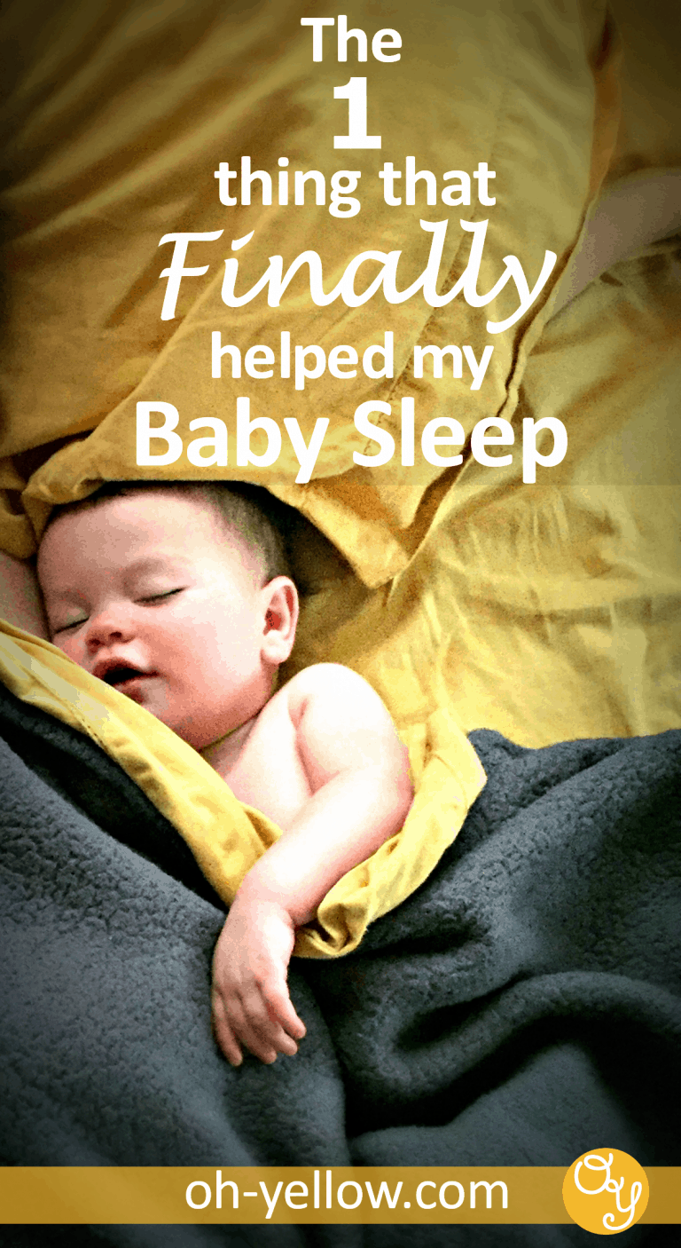 Baby sleep is one of the hardest parts of having a baby! If your baby won't sleep during naps, won't sleep in the crib or won't sleep through the night, these great tips could help. Sometimes sleep training or baby sleep schedules aren't enough, especially after a sleep regression. We tried EVERYTHING and this was the ONLY thing that made a difference. Read my story for ideas on how to help your baby sleep better too...