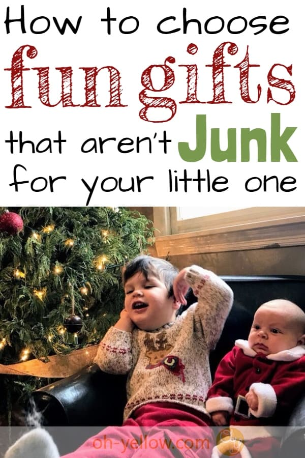 """Gift ideas for toddlers and babies that they won't """"get over"""" in 3 days. Meaningful gift ideas and fun gifts that will make your holiday special... #giftideas #christmas #toddlergifts #babygifts #firstbirthday #christmasgiftideas #newmom #newparents #baby #toddler"""