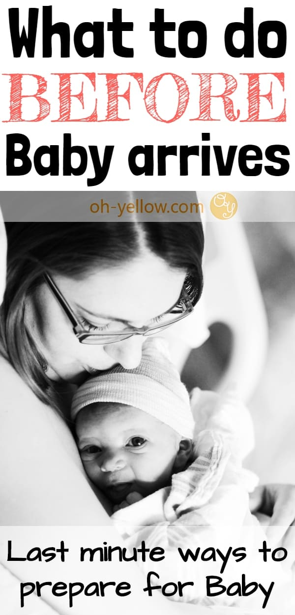 What to do before baby arrives. This third trimester checklist is a GREAT resource for preparing for Baby during pregnancy. #pregnant #baby #newborn #pregnancy #thirdtrimester #firsttimemom