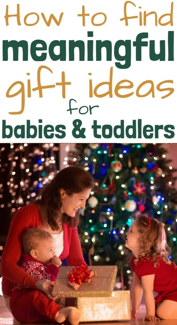 Christmas Gift Ideas for Toddlers and Babies