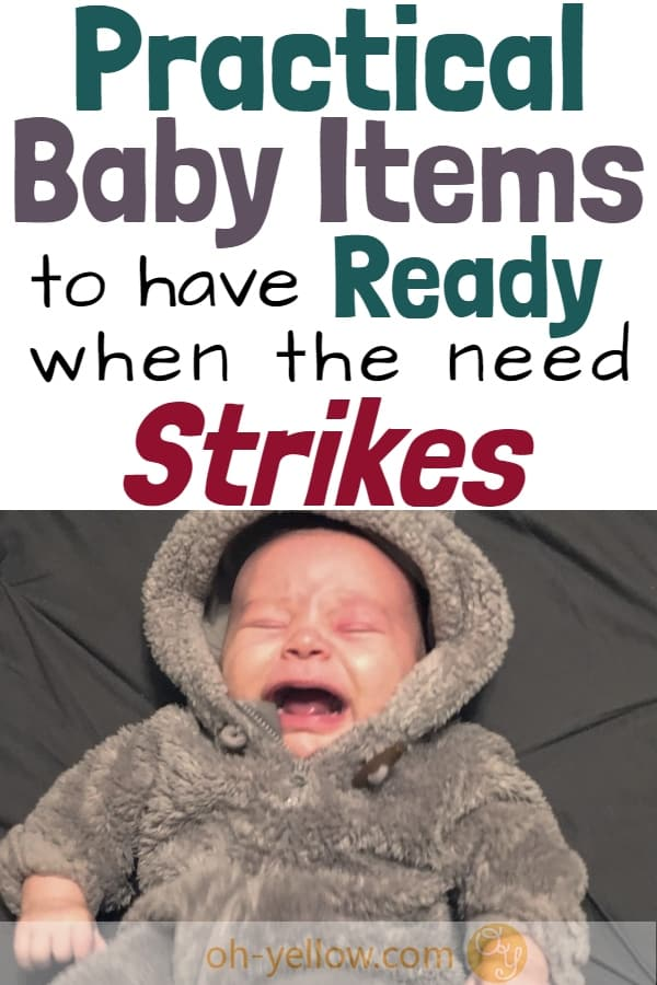 Baby must-have items to prepare you for the not-so-cute moments. This practical baby stuff is what you really need for Baby... #baby #pregnant #pregnancy #newborn #newbaby #newmom #newparents #babyitems #musthave #babystuff