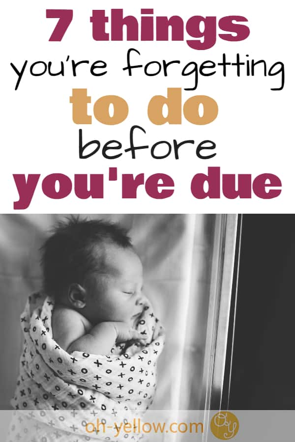 Prepare for baby, breastfeeding and postpartum! Make your life with a newborn baby easier in advance by trying these awesome practical tips while you're waiting for baby...
