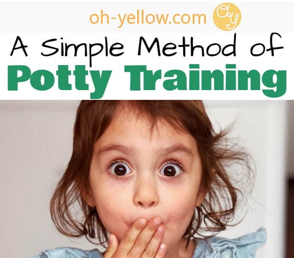 Potty Training Tips! How to potty train a toddler with minimal struggle, frustration, or mess. Try this crazy-easy method to quickly potty train your child.