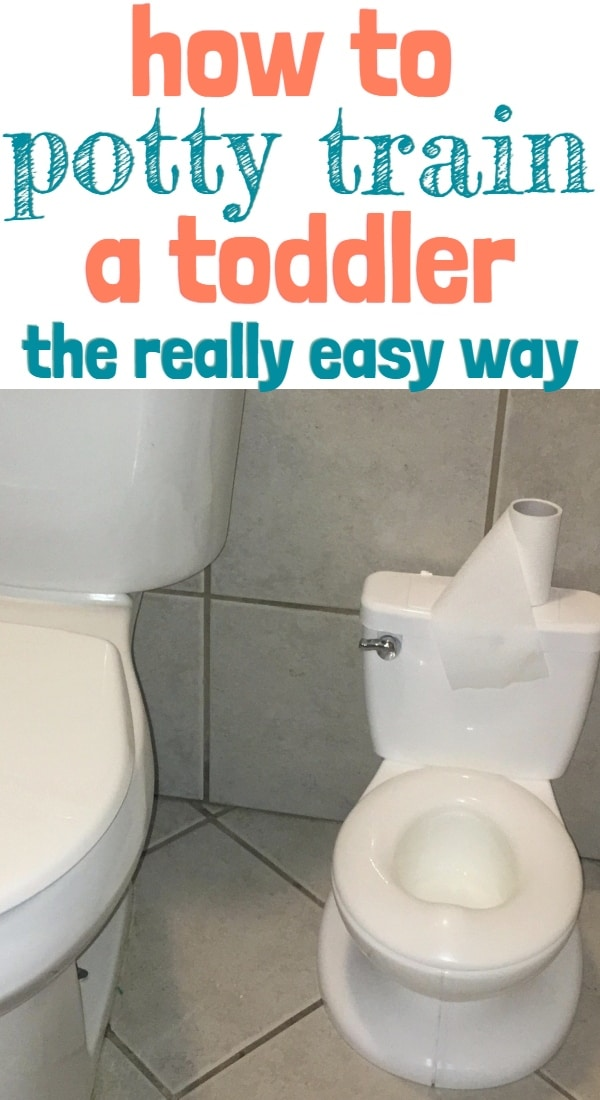 Potty Train in 3 Days with this Strategy
