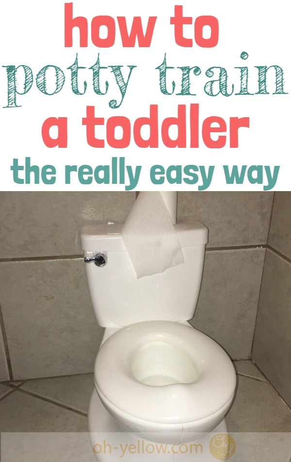 Potty training tips that WORK. The easiest way to potty train a stubborn toddler with less mess and frustration. #pottytraining #toddler #baby #newmom #momhacks #parenting