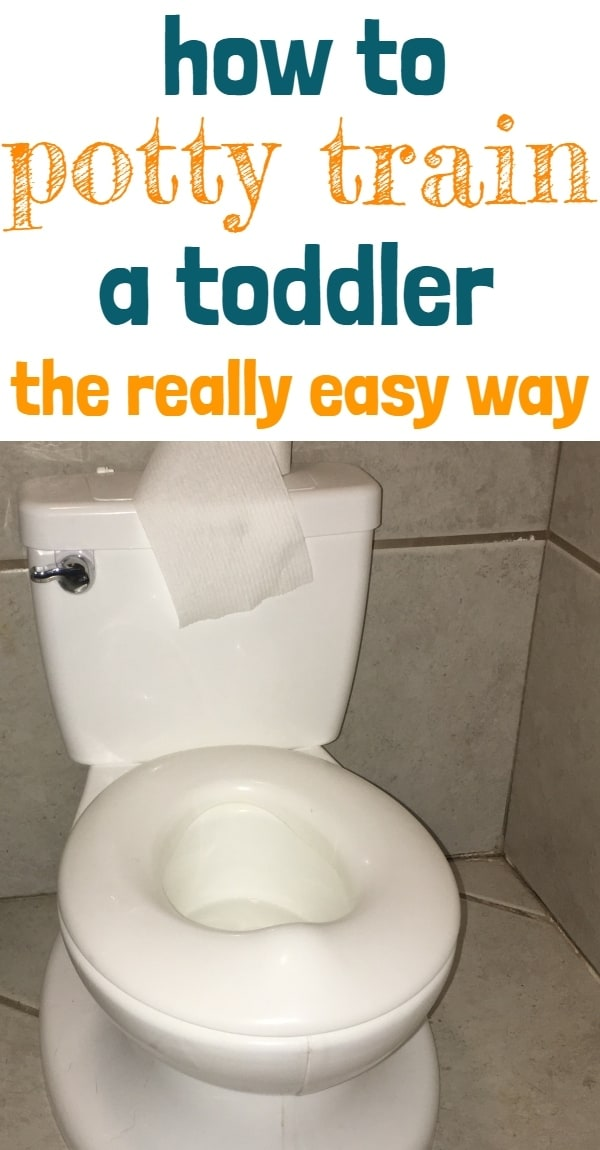 Toddler potty - potty training tips