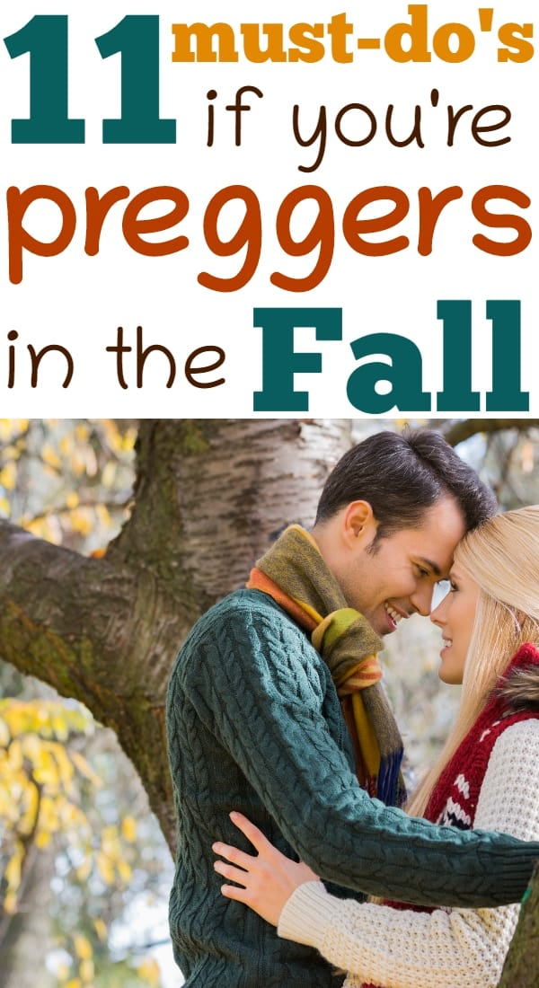Tips for mamas pregnant in fall