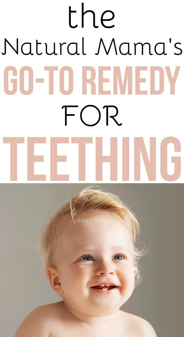 Natural Teething Remedy for Baby
