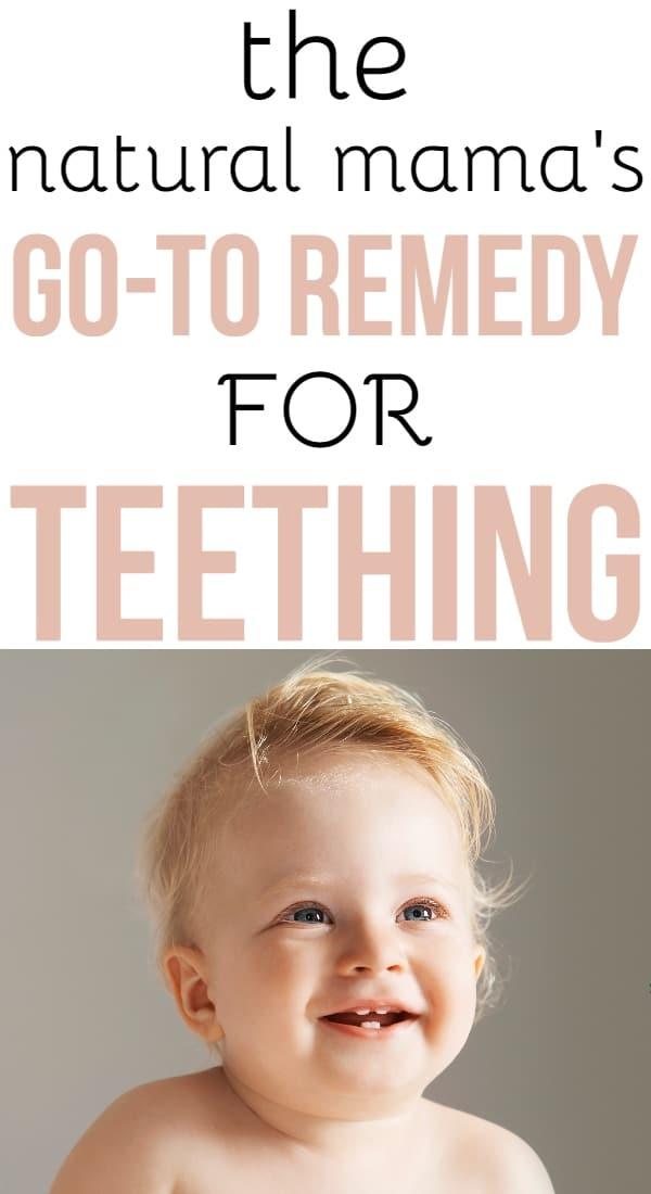 Teething Remedy: Natural Teething Relief