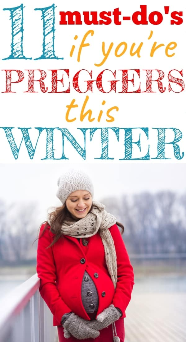 How to Survive a Winter Pregnancy