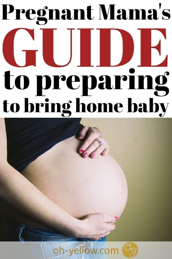 Pregnancy tips for preparing for baby. Prepare your home for a new baby with some genius new mom hacks. Great last minute ways to prepare for Baby! #pregnant #pregnancy #baby #prepareforbaby #beforebabyarrives #babychecklist #thirdtrimester #preggers #preggo #newborn #breastfeeding #postpartum #newmom