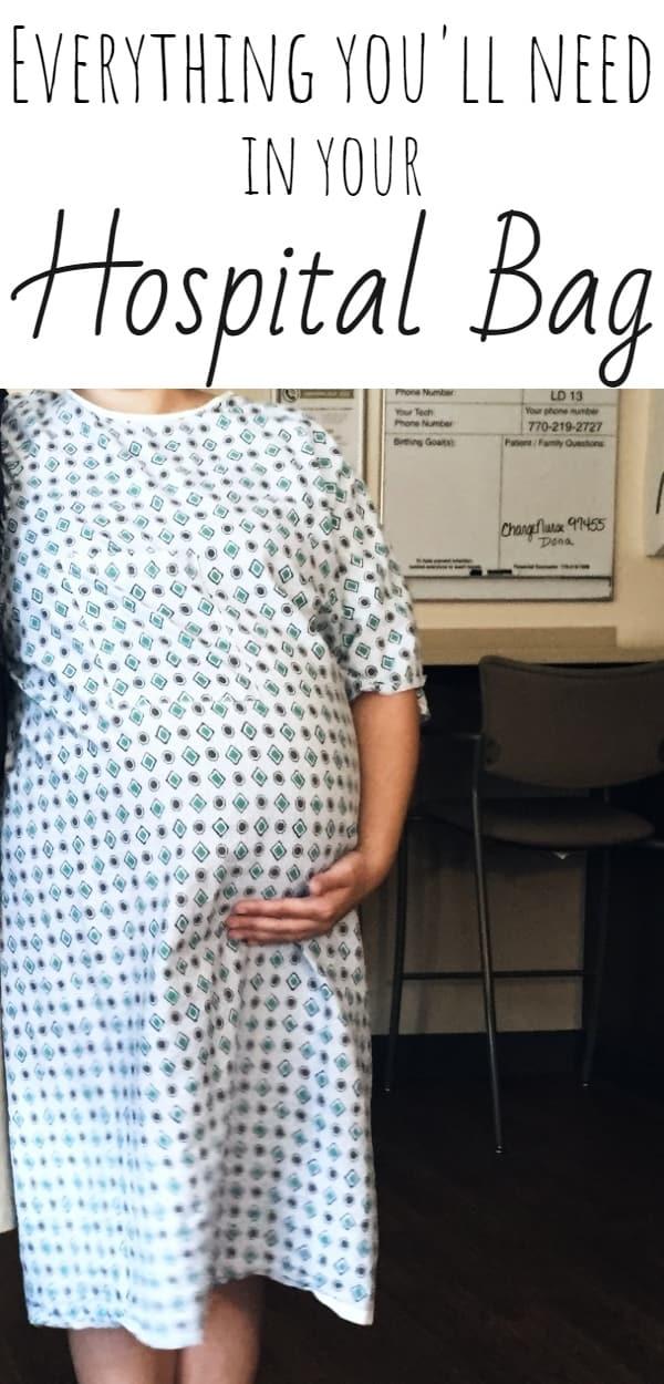 hospital bag checklist for mom-to-be
