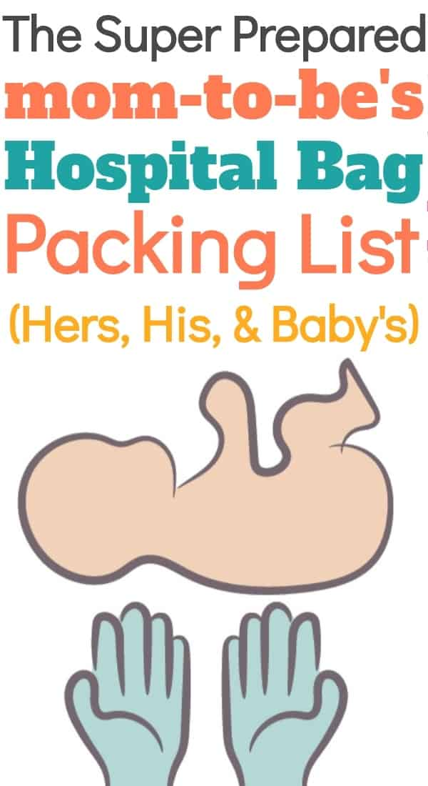 Hospital Bag Checklist with Pro Tips