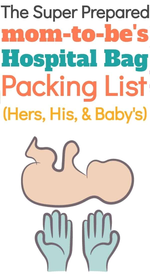 What to Pack in Your Hospital Bag for Mom, Baby, & Dad