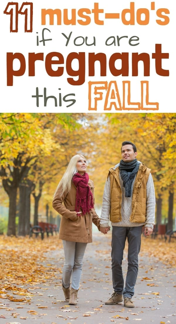 Fall Pregnancy Tips