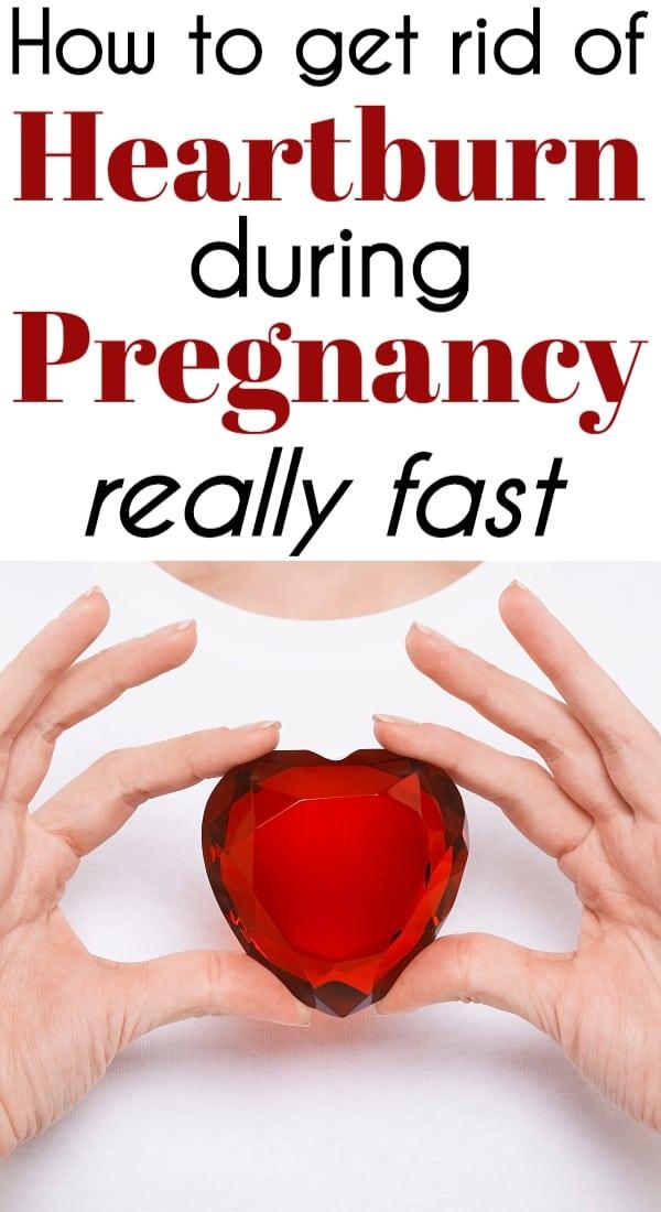 Pregnancy Heartburn Remedies That WORK & FAST
