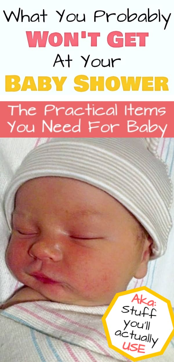 Practical baby items & baby shower gift ideas