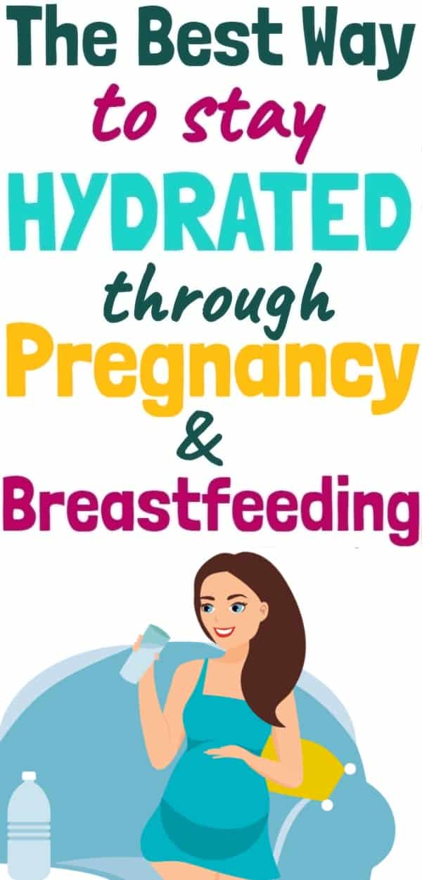 Best Water Bottles for Pregnancy, Postpartum & Breastfeeding