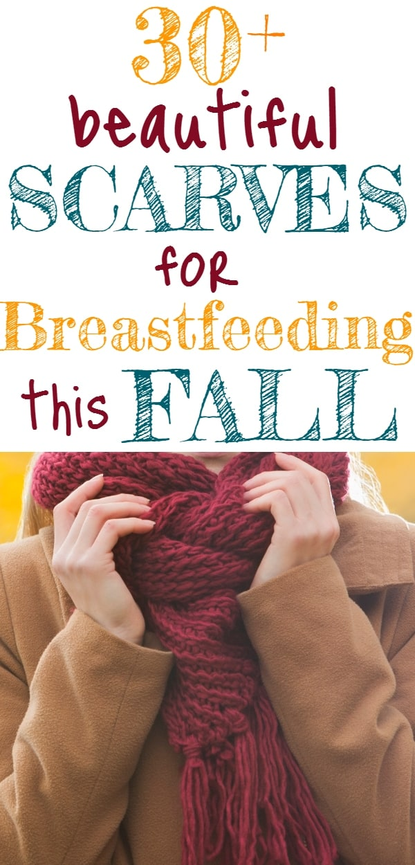 Breastfeeding Scarves for Fall, Winter, & Spring