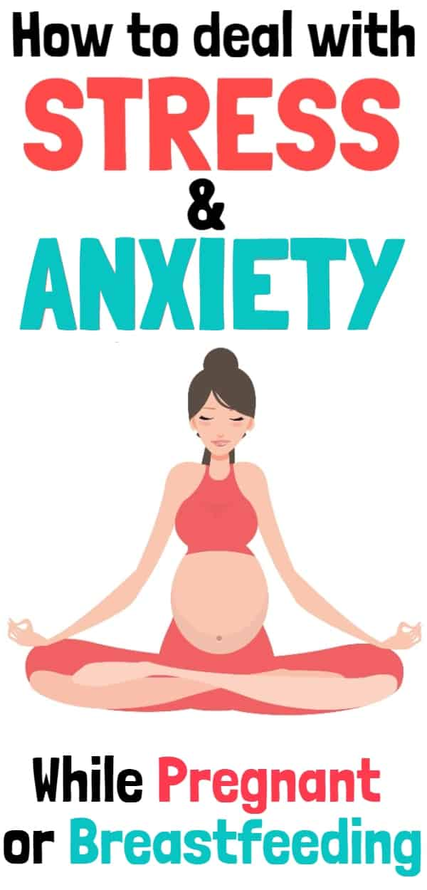 Natural Anxiety & Stress Relief for Pregnancy or Breastfeeding