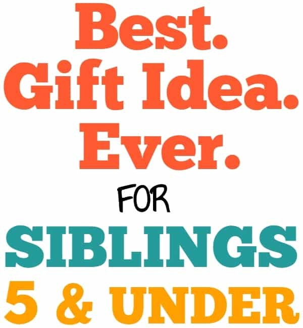 Gift Ideas for Toddlers: The BEST Baby & Toddler Gift for Families