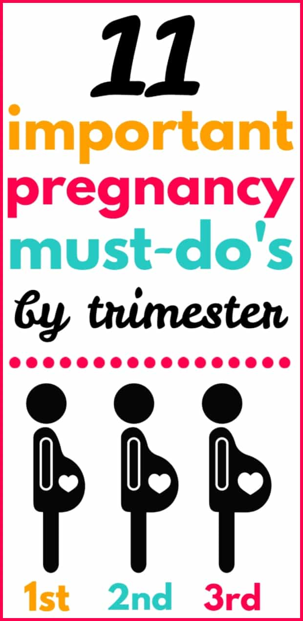 Pregnancy Checklist by Trimester