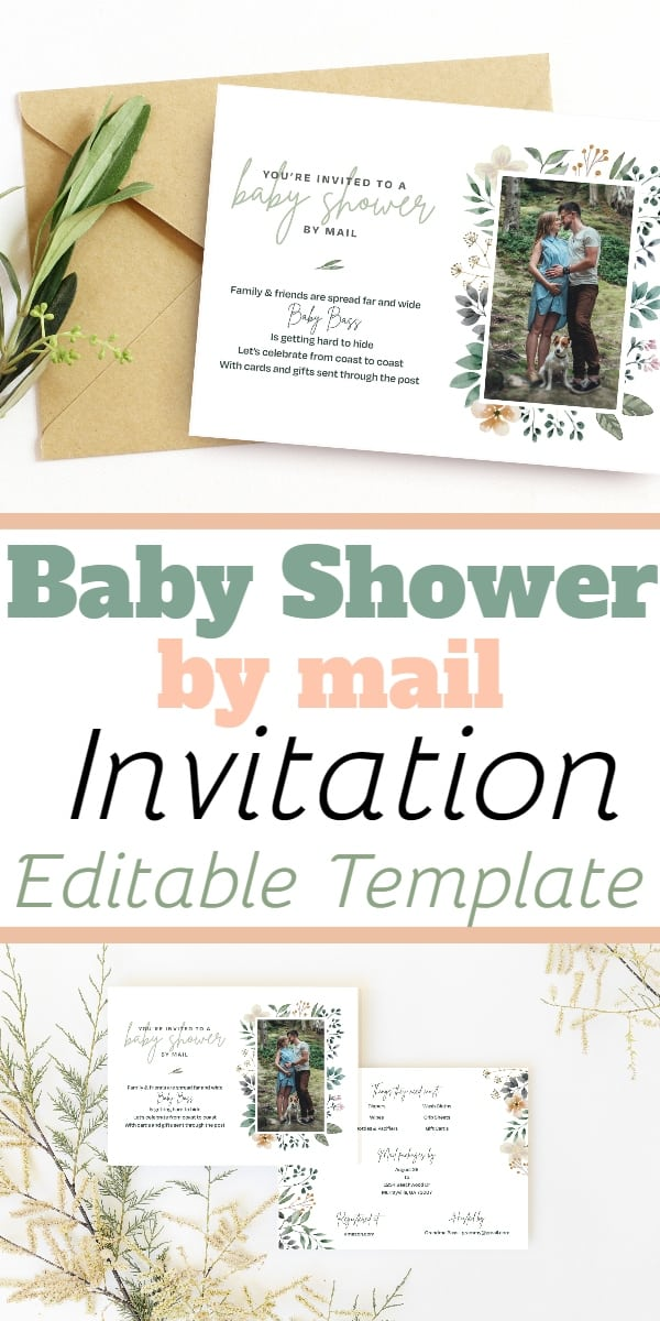Baby Shower By Mail: Long Distance Baby Shower Invitation Wording